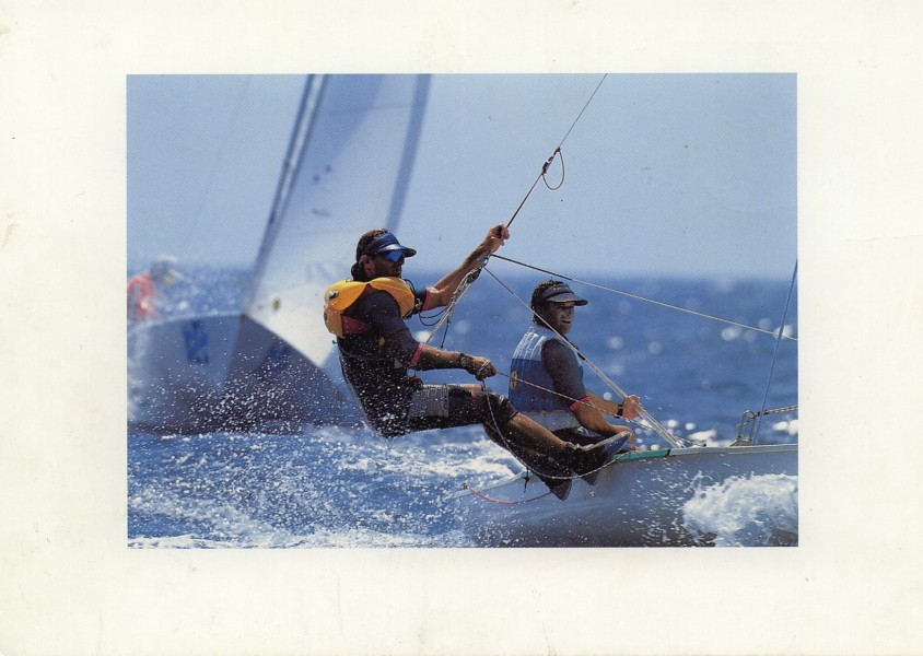 "1993 ""Sailing Olympia '92 + America's Cup '92"" – SAP AG, DEC"