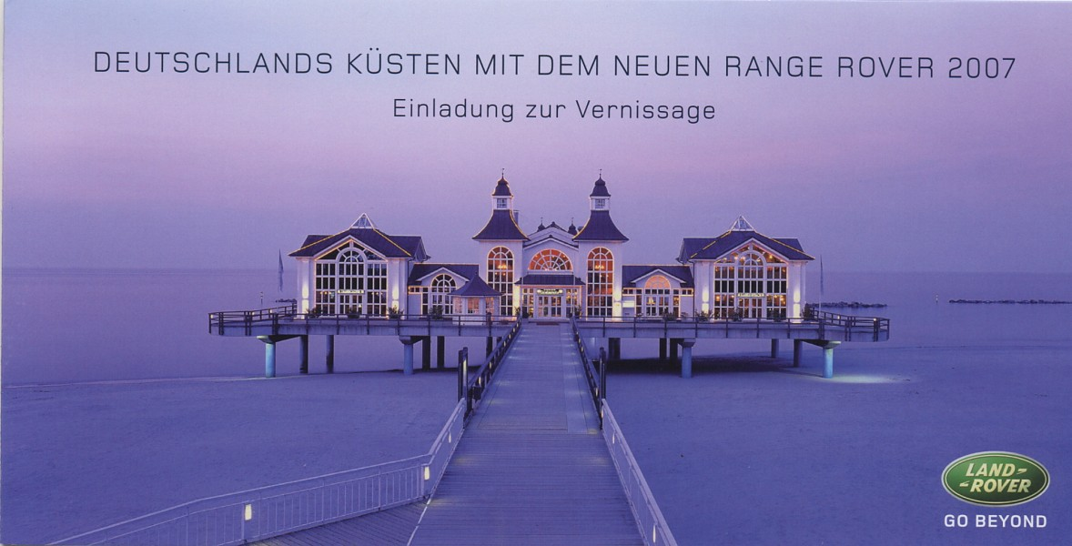 "2006 ""Germany's Coasts with the new Range Rover 2007"" – Cruise Center"